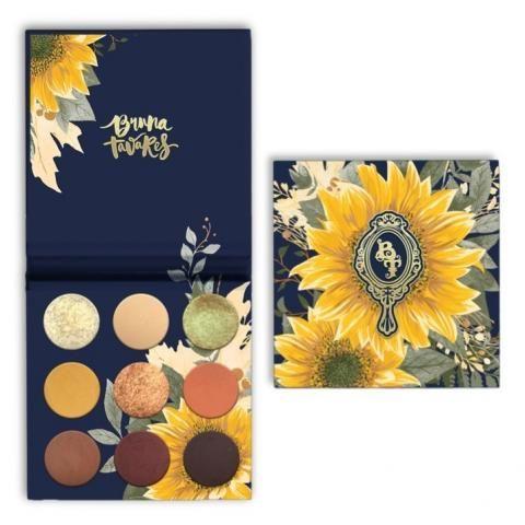 Paleta de sombra, cores em tons terrosos, ideal para utilizar nas estações outono, inverno.